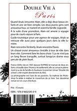 Cover back - Double Vie à Paris - Auteur