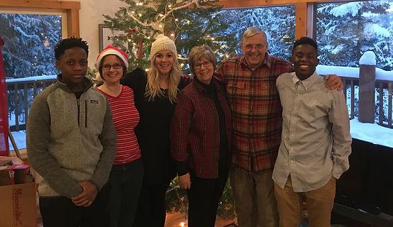 Bill and Family at Christmas