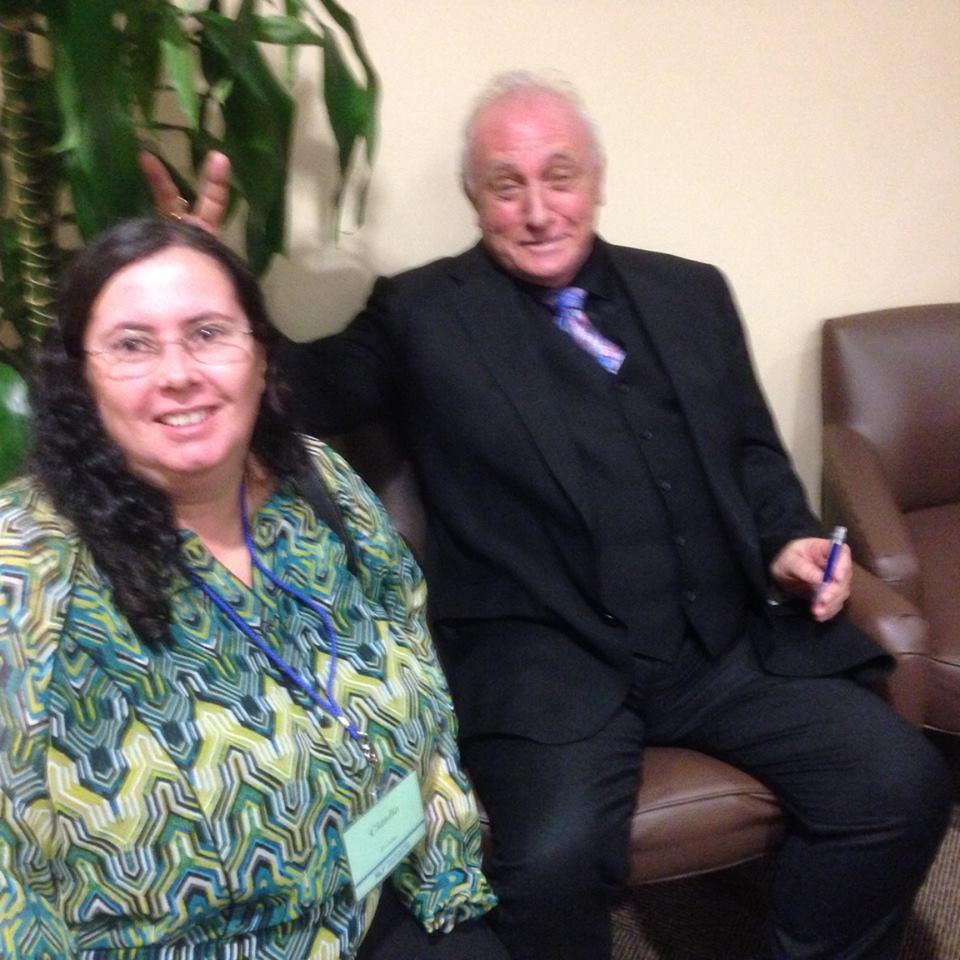 Cláudia Fortuna e Richard Bandler EUA