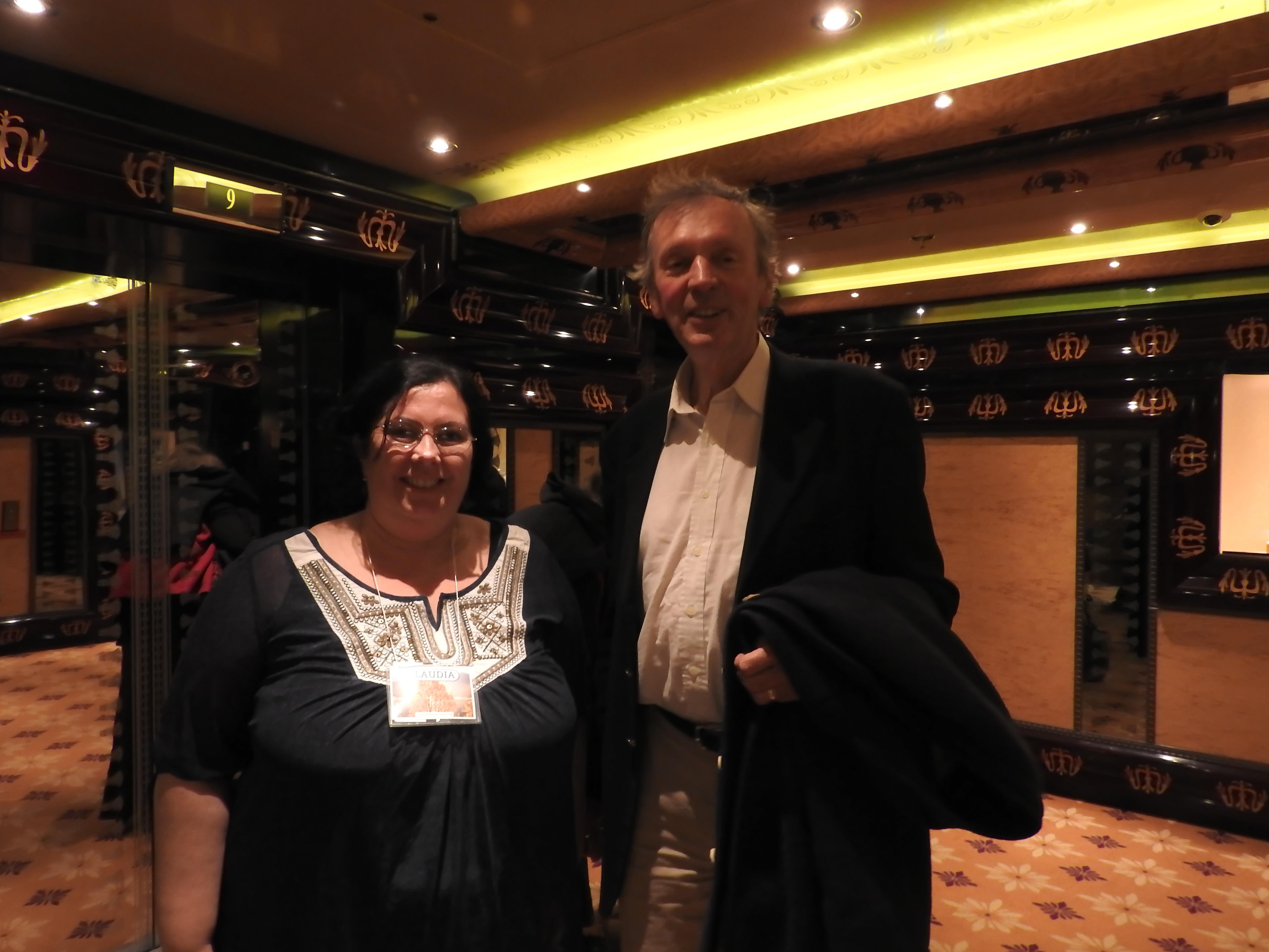 Claudia Fortuna e Rupert Sheldrake Alaska