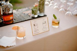 Jessica & Ryan Cocktail Sign