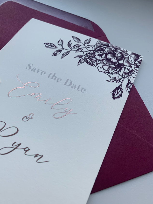 Emily & Ryan Save the Date