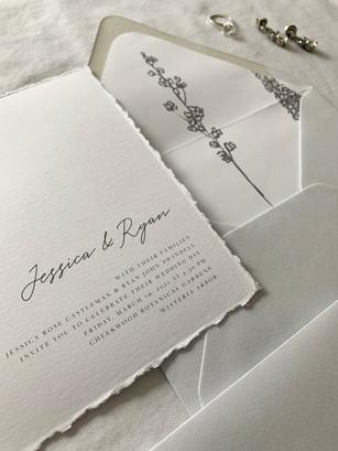 Jessica & Ryan Invite Suite