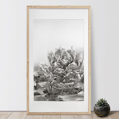 Agave Series-Agave Titanota • Century / Luo Xianban - Original Artwork