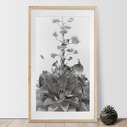 Agave Series — Once In A Life Time / Luo XianBan - Original Artwork