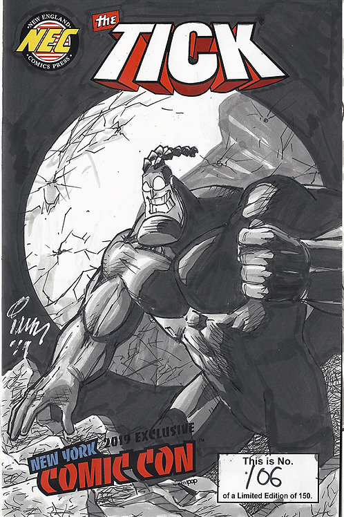 Original Sketch Cover - Tick Spotlight