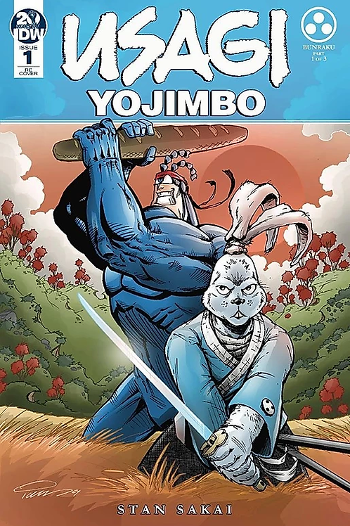 EXCLUSIVE COVER Usagi Yojimbo #1