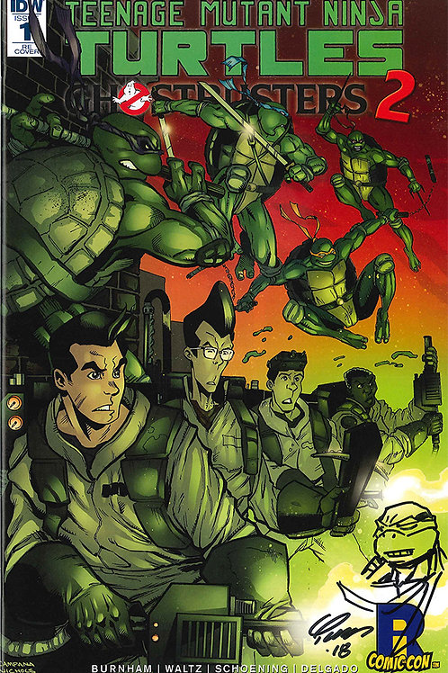 REMARQUE on TMNT/Ghostbusters 2 #1