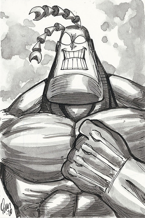 6x9 The Tick Sketch (Small)