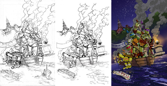 TMNT Animated Adventures #4 Cover