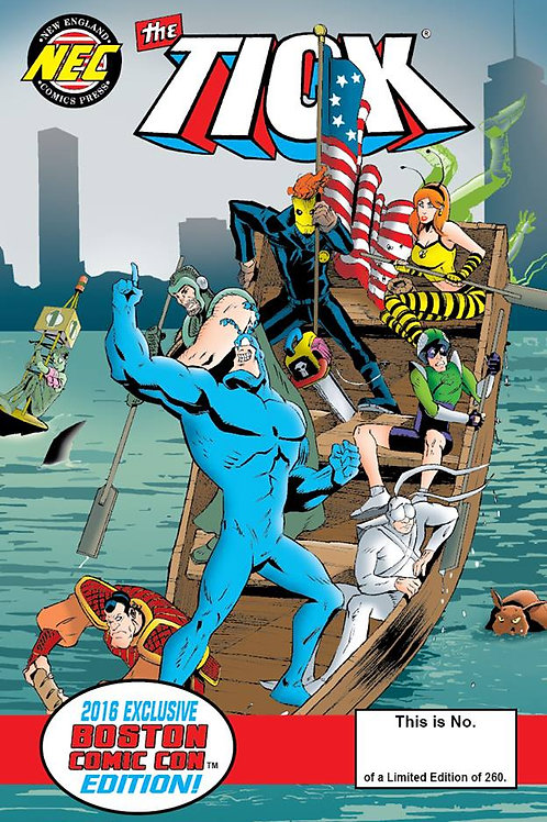 EXCLUSIVE COVER The Tick BCC 2016 Special