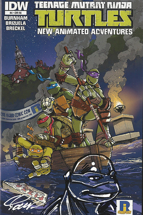 TMNT Animated Adventures 4 with Remarque