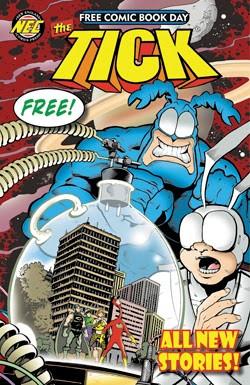 Tick Free Comic Book Day 2014 Duane Redhead