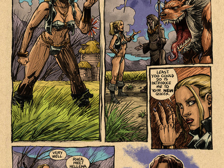 The AXE of HELLENA Ep.1 Pg. 9