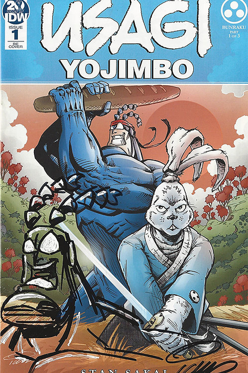 Usagi Yojimbo #1 Exclusive Cover with Remarque