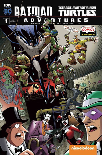 Batman/TMNT Adventures #1 Cover