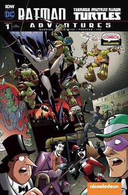 Batman/TMNT Adventures #1 Cover
