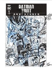 Batman/TMNT Adventures #1 Cover Prelim