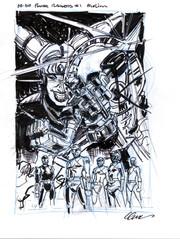 Go Go Power Rangers #1 Cover Prelim