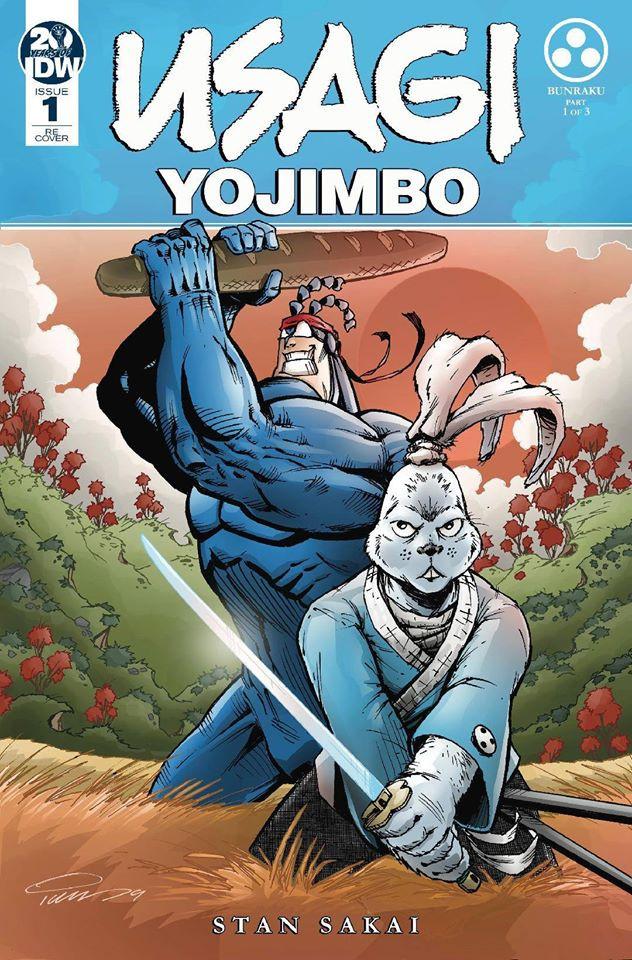 Usagi Yojimbo #1 Variant Cover
