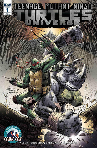 TMNT Universe 1 Cover