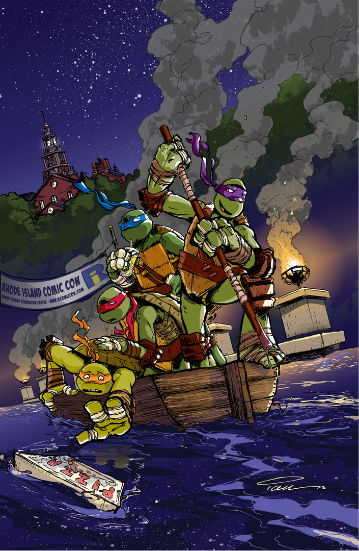 TMNT Adventures Cover