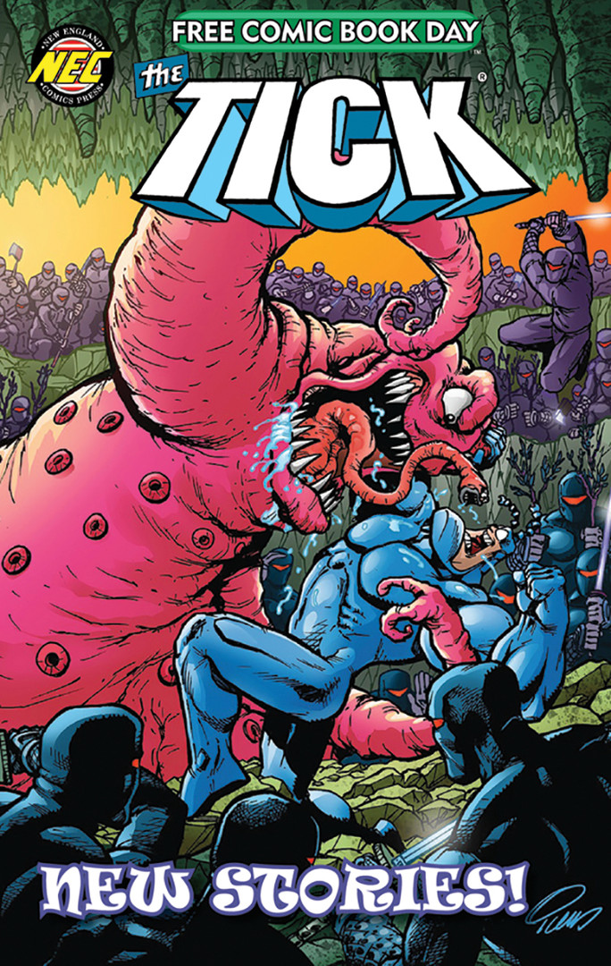The Tick 2020 FCBD Cover