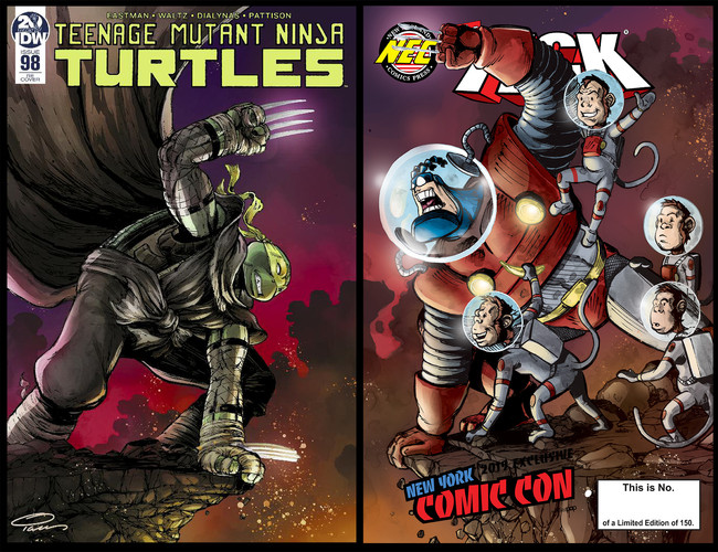 The Tick and TMNT Team Up!