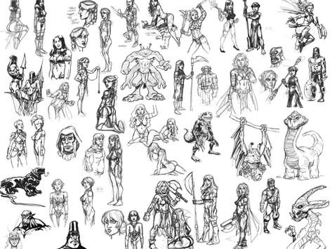 Axe of Hellena Sketches