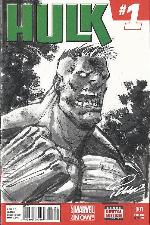 Original Sketch Cover - The Hulk
