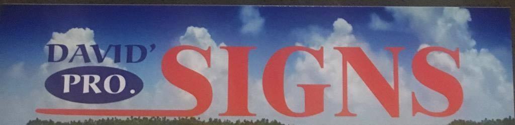 David Pro Signs