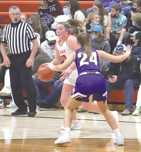 LHS girls fall to West Central, Platte