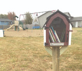 Little Free Libraries ready for use in Worthing