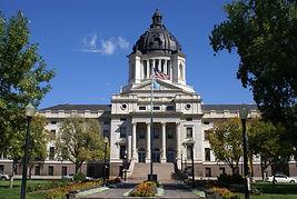 1.  Pierre, State Capitol Building, Sout