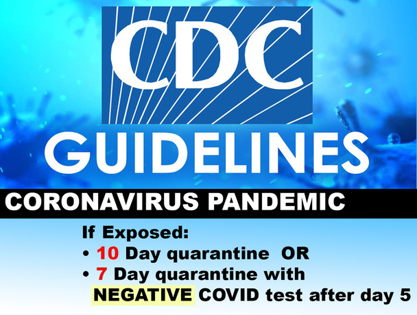 School board approves CDC guidelines on quarantines