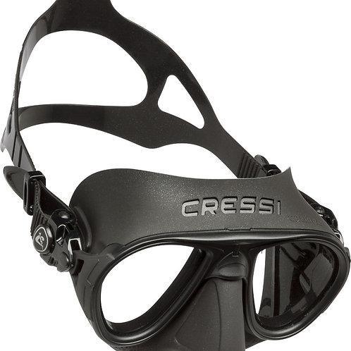Visor calibro negro Cressi