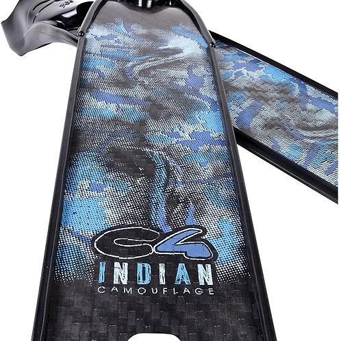 Aletas de carbono Indian camo C4