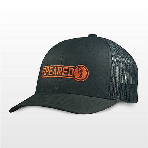 Gorra Speared Trucker Negra