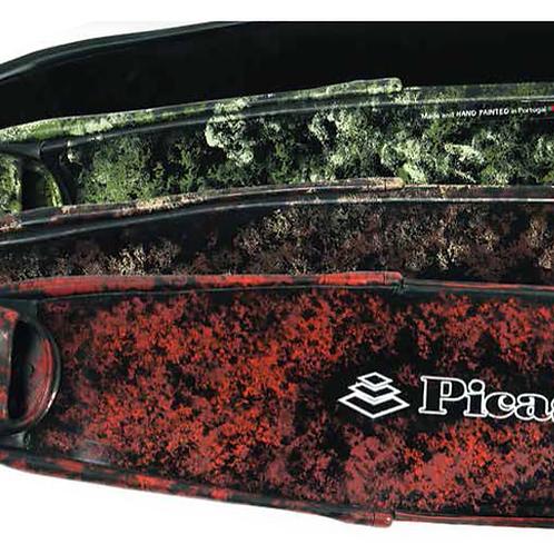 Aletas de fibra de vidrio camo Picasso