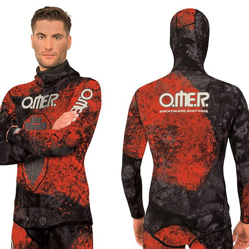 Wetsuit Omer Red Stone 3 mm