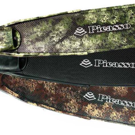 Palas de  fibra de carbono camo Picasso