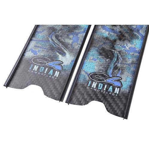 Palas de carbono Indian camo ocean C4