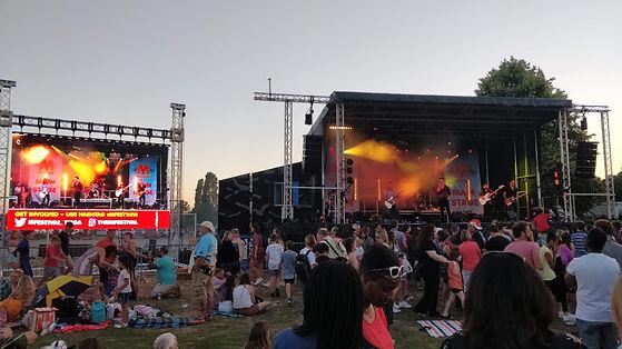 LED Screen Hire Music Festivals
