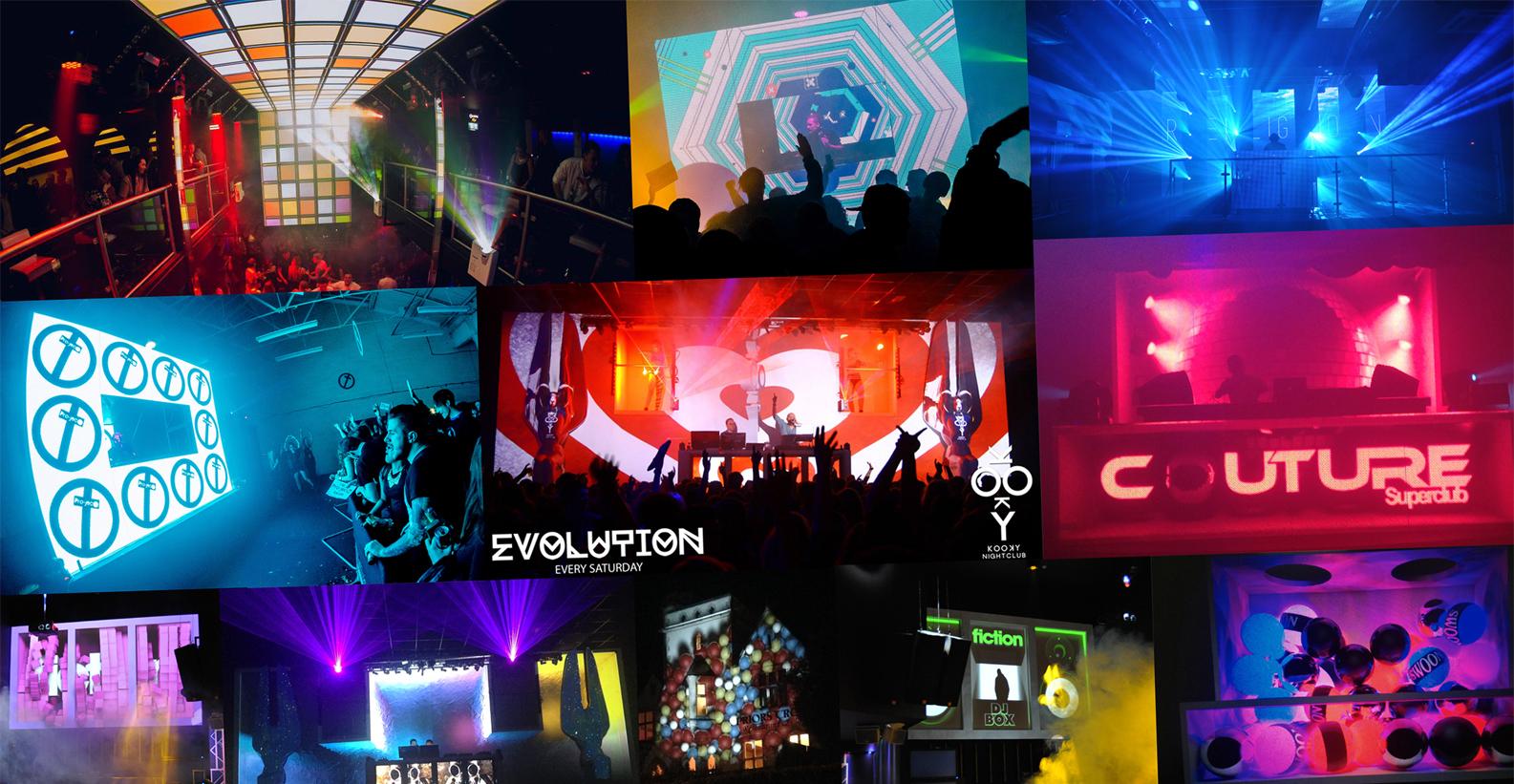 Nightclub Visuals