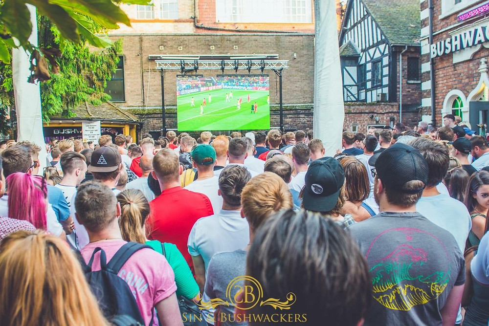 Hire an outdoor big screen for the Euros 2020 football from Ad-V.co.uk