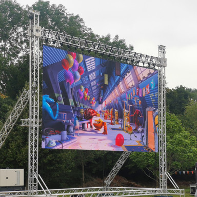 40.5 Sqm LED Screen