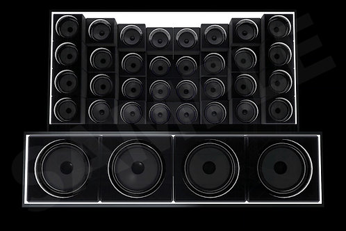 Speaker Pack - Split DJ Booth (Video Mapped)