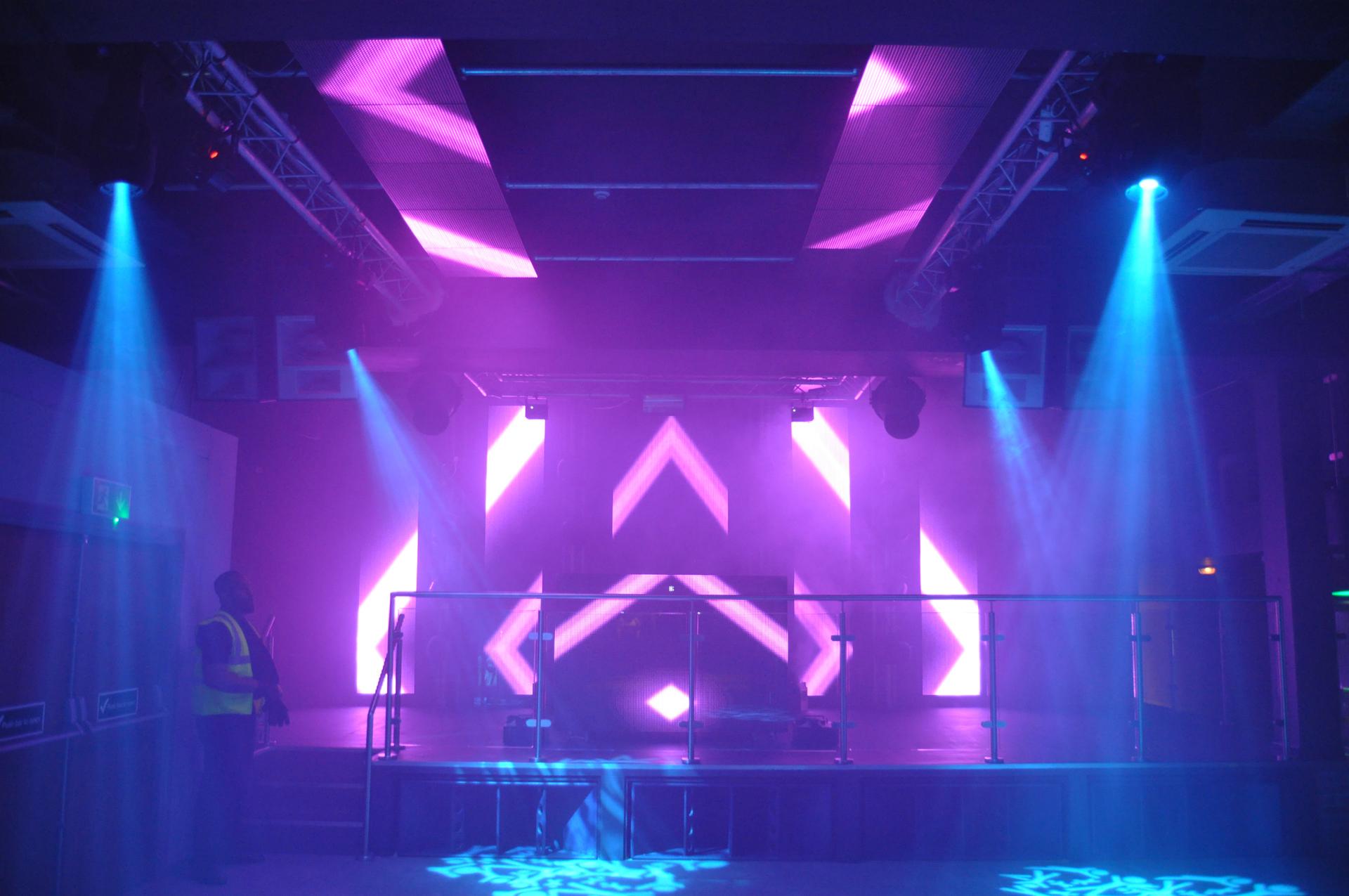 LED Video Install Nightclub
