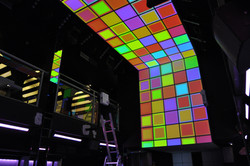 Video Mapping Nightclub