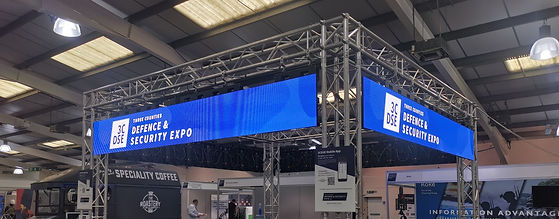 LED wall hire for exhibitions